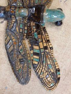 Ceramiczna Ważka by KaNa design.