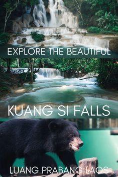 Kuang Si Falls – Luang Prabang, Laos