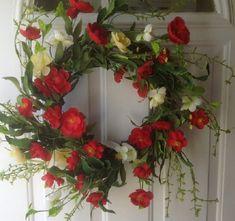 Red Poppy Delight Artificial Door Wreath Wreaths For Door,http://www.amazon.com/dp/B00JHMO0R6/ref=cm_sw_r_pi_dp_kTvztb19Q2AZKC04