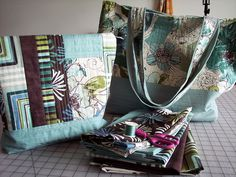 Entries for the May Project QUILTING Off Season Challenge: Pantone and a Winner! by KrisTMJ #projectquilting #challenge #pantone