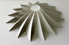 RES Truncated Cone - Paper sculpture