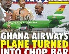 Ghana launches Plane restaurant