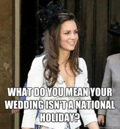 Haha point for Kate!
