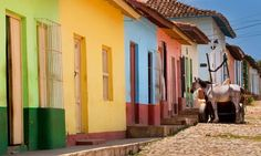 Dreaming on a monday morning about crossing this little cobble stone street in Trindidad...