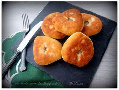 Hier wird mit Liebe gekocht: Beljaschi (gebratene Teigtaschen mit Hackfleisch)