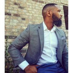 Cool cut and beard