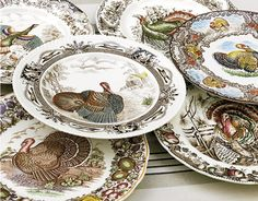 Turkey plates.