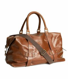 Weekend Bag (faux leather) from H&M.