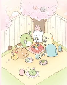kawaii wallpaper - Conheça os Sumikko Gurashi O grupo fofinho da SanX Kawaii Cute Wallpapers, Kawaii Wallpaper, Cute Wallpaper Backgrounds, Doodles Kawaii, Cute Kawaii Drawings, Arte Do Kawaii, Kawaii Art, Wallpaper Fofos, Sweet Magic