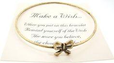 Amazon.com: Make a Wish Gold Antiqued Bracelet - (Bow): Everything Else