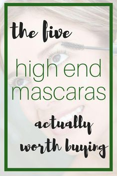 5 Best High End Mascaras #mascara #beauty #highendmakeup #makeup #HormonalAcneRemedies Best Mascara, Mascara Tips, How To Apply Mascara, Applying Mascara, Beauty Routine Calendar, Beauty Routines, Routine Planner, High End Makeup, Combination Skin
