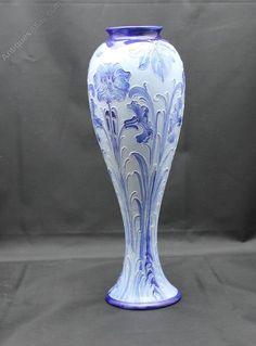 Moorcroft Macintyre Balluster Vase