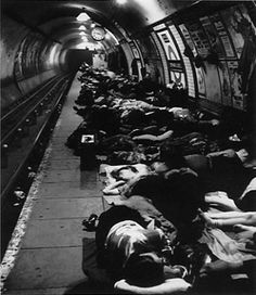 Bill Brandt. I love photos of people sleeping out in the world. Even if this one is fearsome.