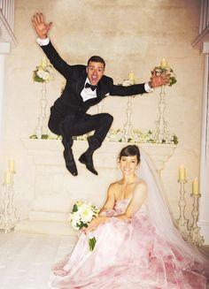 Justin Timberlake & Jessica Biel (photo de mariage)