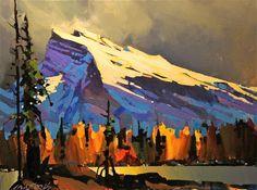 Michael O'Toole Mount Rundle