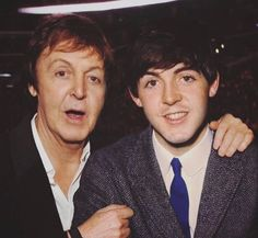 Sir Paul now & then