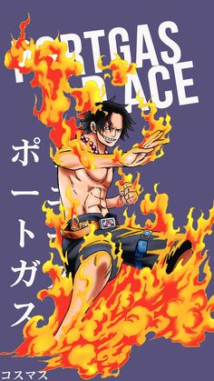 Portgas D Ace ~ Korigengi | Wallpaper Anime