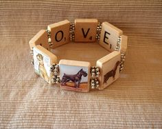 vintage schnauzer   Schnauzer Bracelet Vintage Art by pawsintime on Etsy