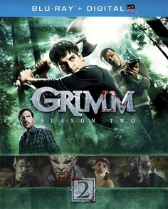 Grimm - Updated Box Art for 'Season 2' on DVD and Blu-ray Disc