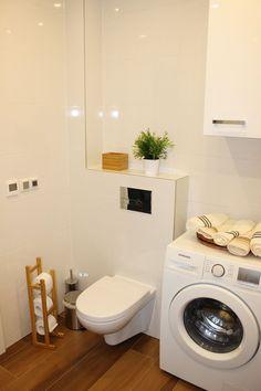 Wnętrza, Łazienka biel i drewno - Moja nowa łazienka