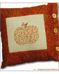 I love fall and I love to cross stitch, so this makes the perfect project!