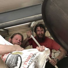 Lee is busy brewing a brute of a beer with Danny at @McCollsBrewery and it's going to be super interesting. Look out for it  in November, trust us it'll be very special! #collaboration #brewing #special