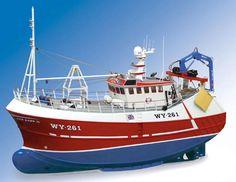 Model Slipway Our Lass II  21.5m twin-rig trawler