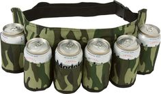 A camo beer holster for showing up to parties armed and ready. | 21 Products From Amazon That'll Make Perfect Gifts