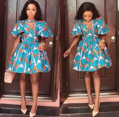 Ankara Xclusive: African Attire Dresses for Young Ladies - African Prints