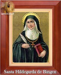 Resultado de imagen para Santa Hildegarda de Bingen