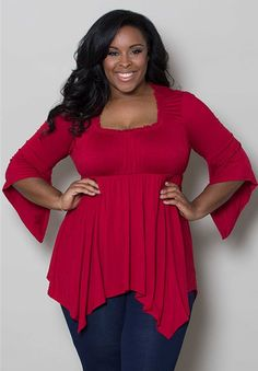 Enchanted Top $49.90 by SWAK Designs #swakdesigns #PlusSize #Curvy