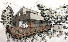 Bilderesultat for green architecture sketch