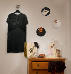 Ma petite robe noire Giles Deacon et ma panoplie pour Noël made in Monoprix
