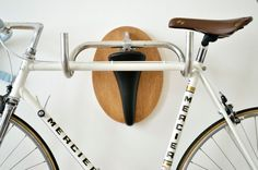 15 Creative Ways to Hang Up Your Bike via Brit + Co