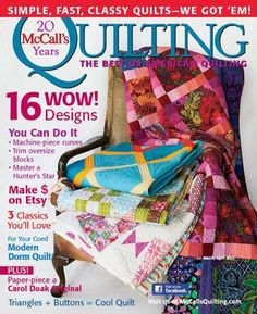 McCall's Quilting Magazines Subscription Discount | Magazines.com