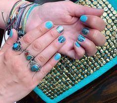 Salon Nails, Seaside, Topaz, Most Beautiful, Sapphire, Rings, Accessories, Jewelry, Jewlery
