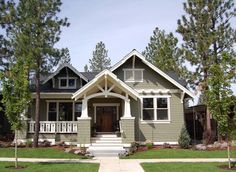 Craftsman House Plan with 1749 Square Feet and 3 Bedrooms from Dream Home Source | House Plan Code DHSW076060