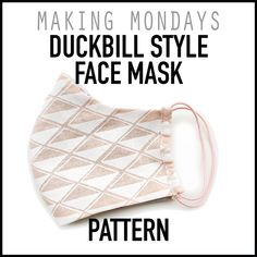 "Search Results for ""mask"" Easy Face Masks, Diy Face Mask, Diy Sewing Projects, Sewing Hacks, Sewing Ideas, Sewing Patterns Free, Sewing Designs, Free Pattern, Diy Mask"