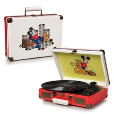 Crosley Disney Mickey Mouse Cruiser Turntable (Record Store Day)