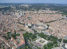 ✈️ Photo aérienne de Nîmes - Gard (30)