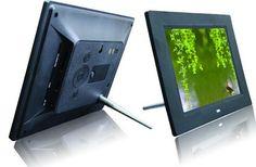 7-pulgadas HDdigital Reproductor de Vídeo marco de fotos digital marco de fotos con música, función de vídeo Envío gratis