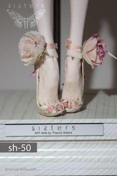 Popovy Sisters – Art dolls by Popovy Katya & Lena Popovy Sisters, Enchanted Doll, Doll Parts, Doll Repaint, Doll Shoes, Diy Doll, Ball Jointed Dolls, Doll Face, Blythe Dolls
