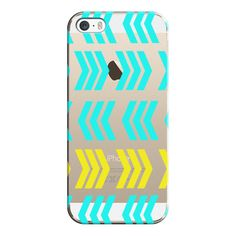 iPhone 6 Plus/6/5/5s/5c Case - Sunshine Pop and Aqua Zig Zag -... (135 ILS) ❤ liked on Polyvore featuring accessories, tech accessories, iphone case, iphone cases, apple iphone 6 case, iphone 6 case e transparent iphone 5 case