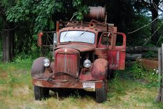 Old Mack Fire Truck | Flickr - Photo Sharing!
