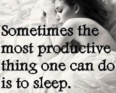 So true! We all need to get back to sleep