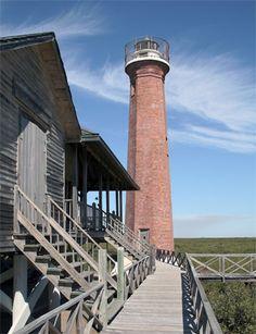 Aransas Pass lighthouse (Lydia Ann) Lighthouse, Texas at Lighthousefriends.com