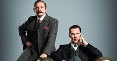 A coisa tá séria no curto teaser da quarta temporada de Sherlock, da BBC, que mostra os protagonistas em uma poça (ou lago?) de sangue.