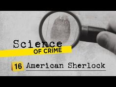Science Tools, Forensic Science, Forensics, Investigations, Sherlock, Crime, Medicine, History, American