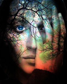 Fine Art Print Giclee Archival Print Photomontage by ImagineStudio from ImagineStudio on Etsy. Photomontage, Top Imagem, Montage Photo, Wow Art, Double Exposure, Oeuvre D'art, Portraits, Dreaming Of You, Art Photography