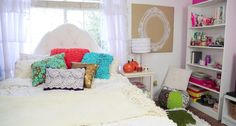 Fall Room DIY/Dream Bedroom  http://youtu.be/XFq0dwZIQCs